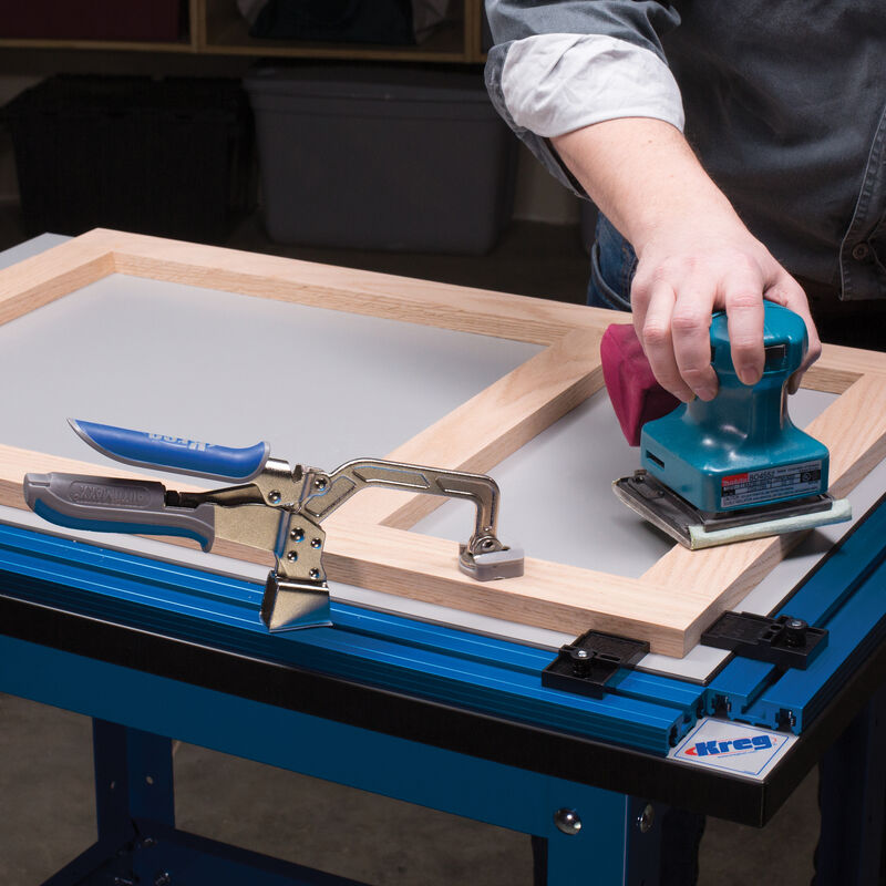 Clamp Table and Steel Stand Combo, , hi-res