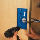 """Shelf Pin Jig with 1/4"""" Bit, , hi-res"""