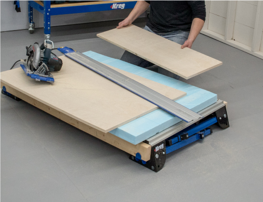 Sturdy Versatile Expandable Work Support