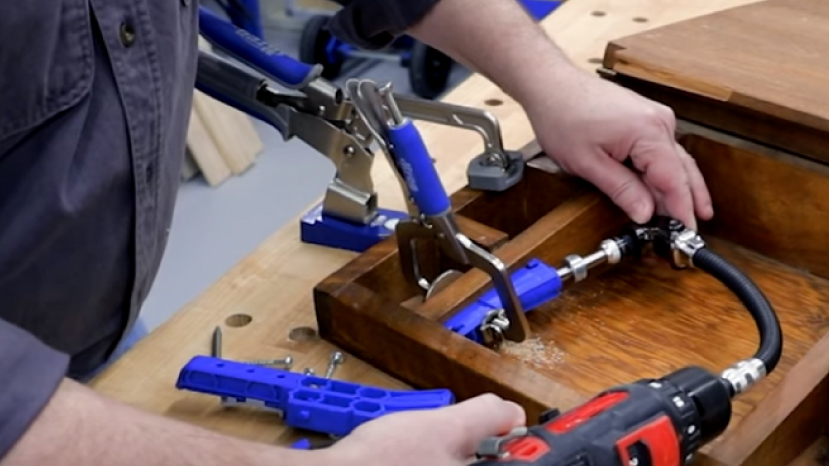 Make household repairs in tight spaces
