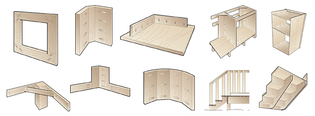 Uses for Pocket-Hole Joinery