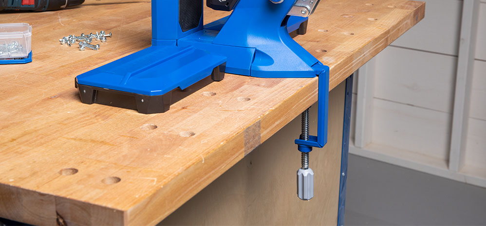 Add stability to 500-Series and 700-Series Pocket-Hole Jigs.
