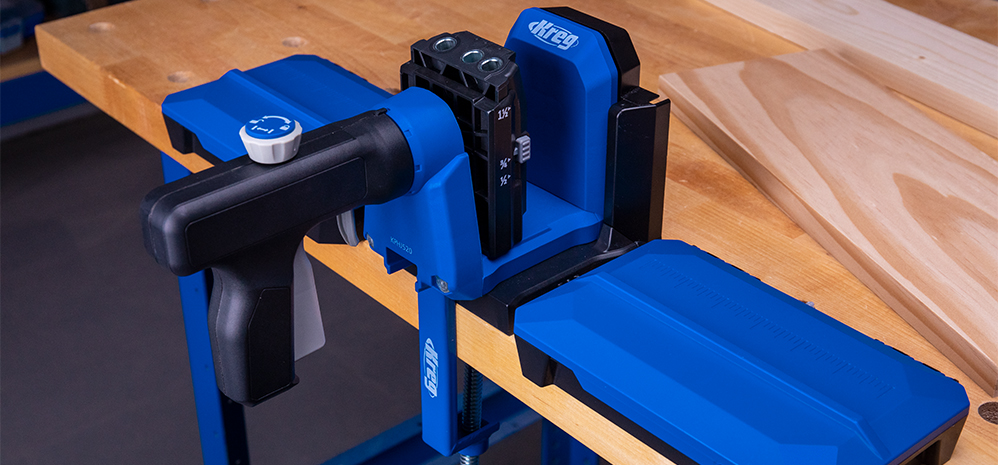 Upgrade your Pocket-Hole Jig 520PRO or 720 with the Docking Station