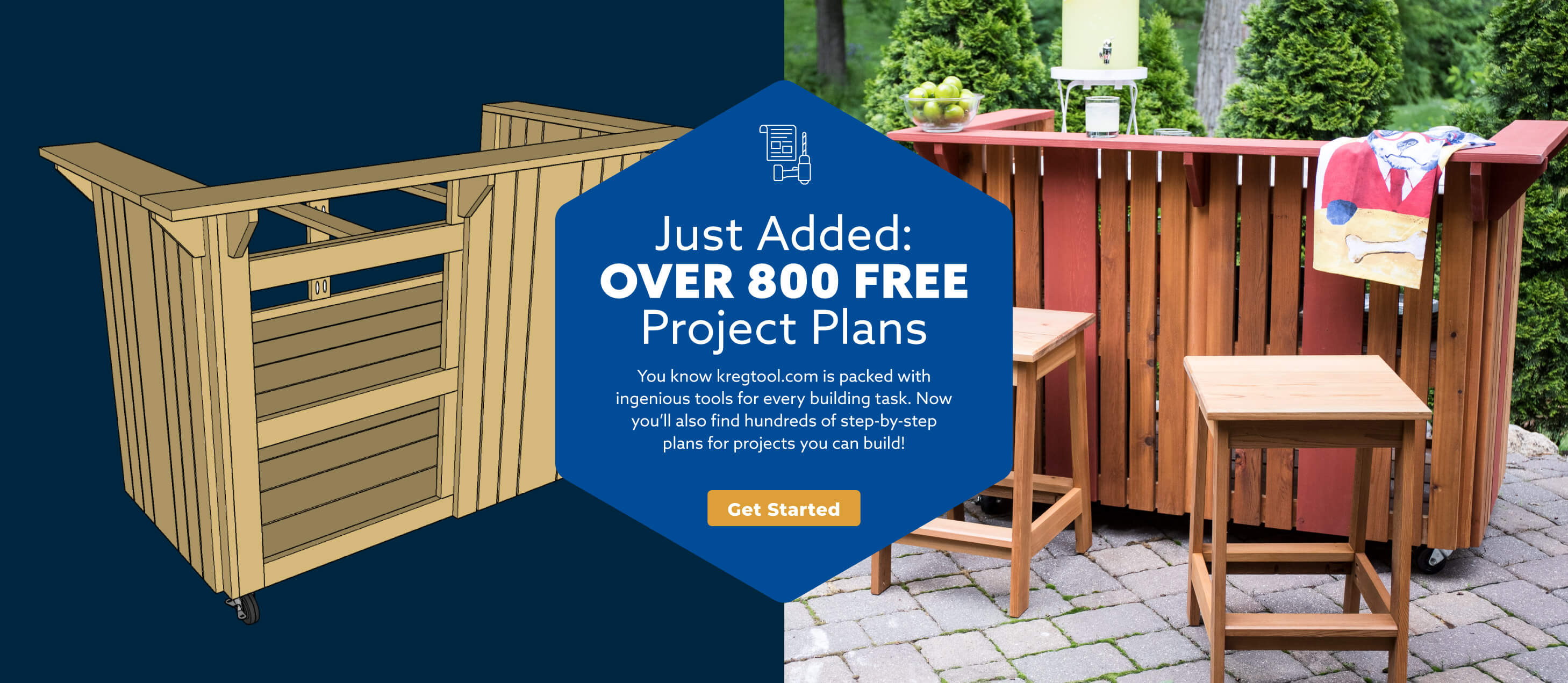 Just Added: Over 800 Free Project Plans