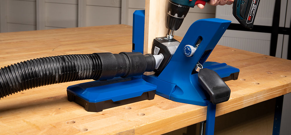 This pocket-hole jig is the ultimate joining setup.