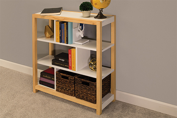 Easy-to-Build Bookcase
